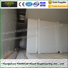 China Insulated Embossed Aluminum Polyurethane Sandwich Panel 200mm Cold Room supplier