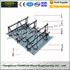 Performance Reinforcing Steel Rebar Truss Floor Deck Sheet For Building Foundation