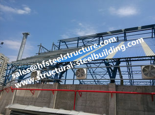 China Fabricated Industrial Steel Buildings Structures Stairs Roofing supplier
