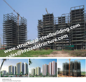 China Apartments Fabricated Multi Storey Steel Frame Buildings supplier