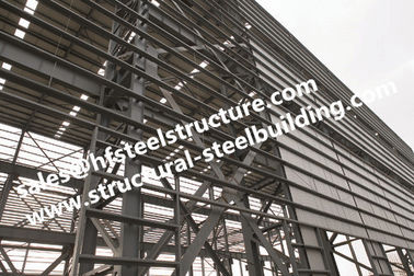 China Q235 Q345 Heavy Metal Structural Steel Fabrication supplier