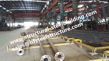 China Monopole Towers And Lattice Towers Steel Pole For Wind Power Plant Production Line supplier
