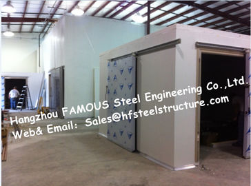 China Cold Storage Rooms , Ice Cream Freezers And Hardening Rooms Cool Coolers For Beverages supplier