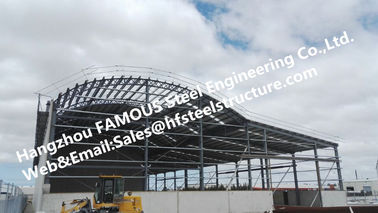 Metal Galvanized Steel Frame Buildings , Fabricated Steel Structure Construction