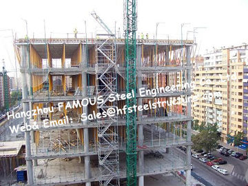 Q345 Pre Engineered Metal Buildings And Structure , Prefab Steel Buildings