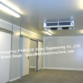 China Commercial Walk In Fridge / Refrigerator Units Made Of Width 950mm Pu Sandwich Panel supplier