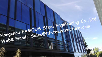 China Q235 / Q345 Steel Prefab Buildings / Multi Storey Steel Structures NZ Standard supplier