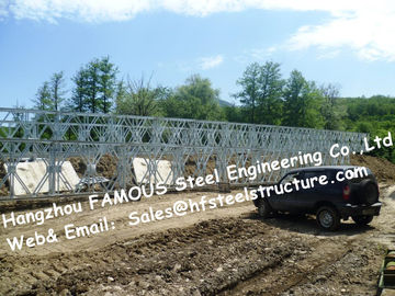 China Steel Fabricator Supply Prefabricated Steel Structural Bailey Bridge Of Reinforced Steel Q345 supplier