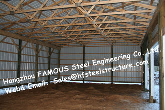 China Chicken Poultry Shed Steel Construction and Animal Farm Building Steel Cow Shade supplier