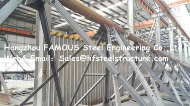 Edificio Prefabricado en Estructura de Acero en China para Galpón de Taller de Manufactura, Fabricación y  Construcción