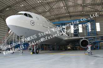 China Hot Galvanized Steel Shed Aircraft Hangar Buildings For Airplanes / Air Terminals supplier