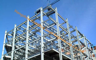 Multiple Floor Prefabricated Steel Buildings EPC Project , Galvanized Surface Treatment