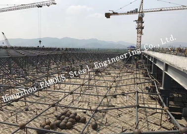 Hot Dip Galvanized High Specification Pipe Truss Industrial Steel Buildings EPC Project