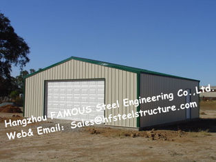 China Bespoke Pre Engineered Steel Buildings Customized Size For Car Garage supplier