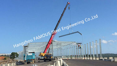 China Hot galvanized Structural Steel Fabrications Highway Tunnel Fabricated Erector supplier