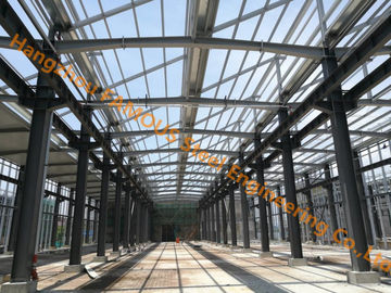 China Pre-engineered Steel Structure Frame Building System Long Span Warehouse supplier