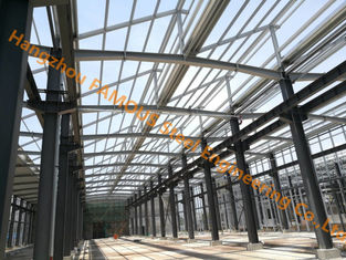 China Q345B or Q235B Industrial Shed Design Steel Structure Warehouse Prefabricated Building supplier