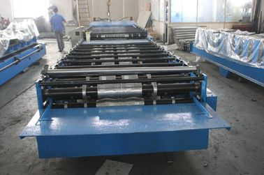 China Automatic Corrugated Roll Forming Machine 37KW For YX35-125-750 supplier