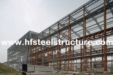 China Custom Structural Industrial Steel Buildings For Workshop, Warehouse And Storage supplier
