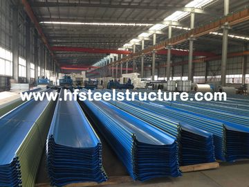 China Hot Dip Galvanized / Rolling Metal Roofing Sheets With Electric Welding supplier