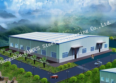China Steel Framed Building Design Of Steel Structures & Construction By Famous Architecture Firm supplier