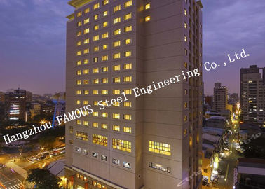 Civil Eengineering Construction Prefabricated in Commercial Steel Buildings , Residential Buildings and Modern Hotels