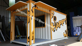 China Famous Pre - Engineered Building Practical 20ft Container House For Living House supplier