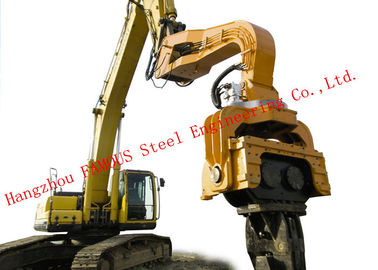 China 360 Degrees Rotation Device Hydraulic Vibratory Hammer Machine For Construction Foundation supplier