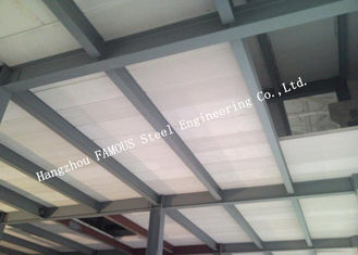 China Steel Modular House Pre-Engineered Building Made By Steel Frame And Prefab-I Panel supplier