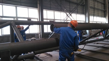 China Pre-engineering Components Structural Steel Fabrications For Industrial Steel Building supplier