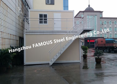 China Multi Floor Prefab Container House , Flat Pack Homes For Outdoor Leisure And Tourism supplier