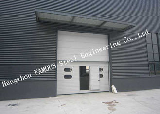 China Private Customized Industrial Garage Doors For Warehouse / Cold Room Storage supplier