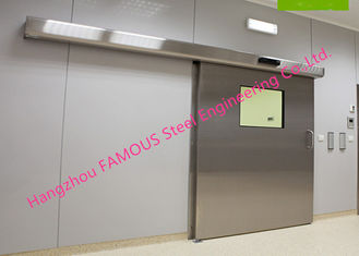 China Lightweight Stainless Sliding Door Smart Access System With Polyurethane Core Door Panel supplier