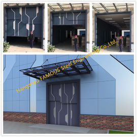China Sectional Lift Door Vertical Panel Lifting Industrial Sectional Door For Garage Use supplier