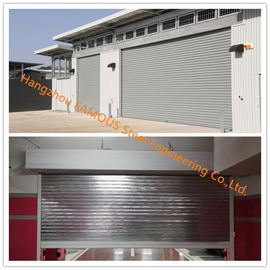 China Fire Prevention Motorized Folding Doors American Standard Fire Resistance Steel Sliding Door supplier