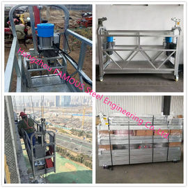 China Hot Dip Galvanized Suspended Scaffold Platform With Heavy Loading Capacity supplier