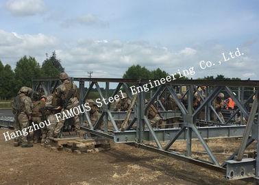 China Lightweight Structure Temporary Usage Military Bailey Bridge For Emergency Application supplier