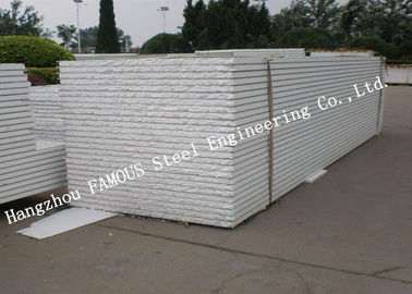 China Insulated Waterproof Corrugated EPS Sandwich Panels Heat Resistant Wall Panel supplier