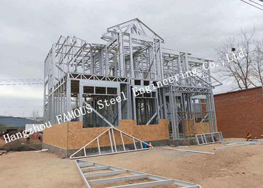 China Galvanized Surface Lightweight Steel Pre-Engineered Building Villa For Residence supplier