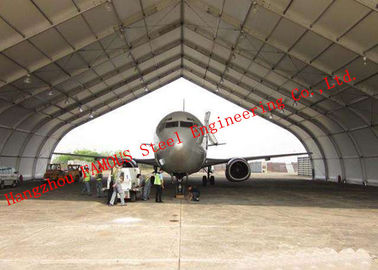 Flexible Design Prefabricated Steel Structure Aircraft Hangar Buildings Seismic Proof Construction