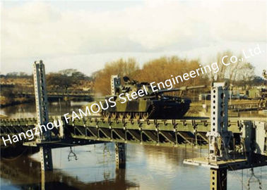 China Modern Designed Military Style Temporary Military Steel Structure Bailey Bridge For Army Usage supplier