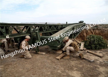 China Easy Installation Temporary Steel Structure Bailey Bridge Military Application supplier