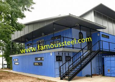 China Modular Container Hotel Solutions Affordable Shipping Containers For Single-Family Options supplier