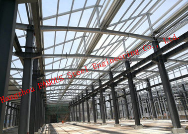 China PV Glass Curtain Wall Surface Industrial Steel Buildings Lightproof And Heat Insulation supplier