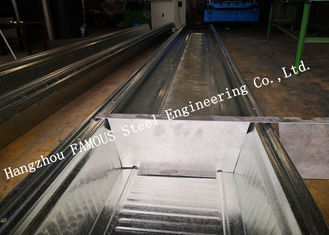 China Comflor 210 Equivalent Composite Floor Deck Deep Profiles Galvanized Steel Decking Sheet supplier