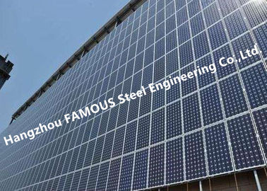 China PV Glass Curtain Wall BIPV Ventilated Facade Systems For Solar EPC Contractors supplier