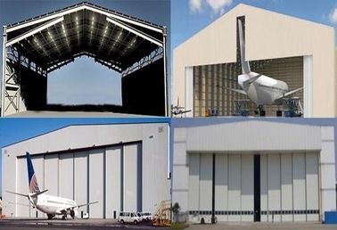 China Single Span Steel Structure Aircraft Hangar Buildings supplier