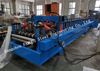 China Australia New Zealand Standard Steel Structure Cold Roll Forming Machine Automatic Change C/Z Purlin supplier