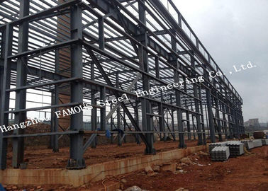 China Australia Standard Fabricated Steel Structures Industrial Steel Buildings Fast Installation supplier