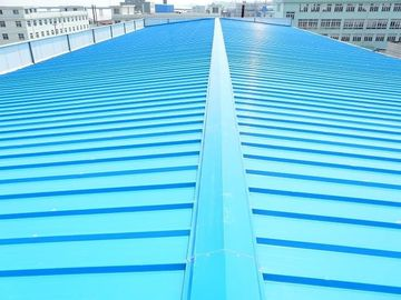 China High Performance Metal Roofing Sheets Zinc Coating For Steel Building supplier